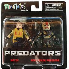 Minimates Predator Series 2 Royce Berserker Predator Figure Set NEW Toys