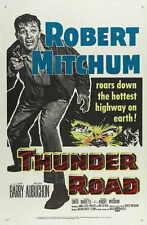 THUNDER ROAD Movie POSTER 11x17 B Robert Mitchum Jacques Aubuchon Gene Barry