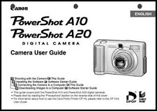Canon Powershot A10  A20 Digital Camera User Guide Instruction  Manual