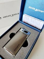 Silver Match Accendino Lighter jet windproof 674038 CROXLEY SM antivento