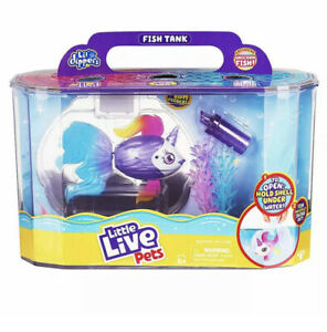 Little Live Pets - Lil Dippers - Fish Tank Interactive Pet Toy Character RRP £28