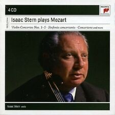 ISAAC STERN - ISAAC STERN PLAYS MOZART  (4 CD)  NEU