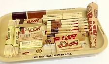 RAW Survivors Gift Set 1970 Style Small Metal Rolling Tray Mini Deal Classic