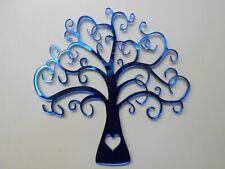 Tree Blue Acrylic Mirror, 60cm