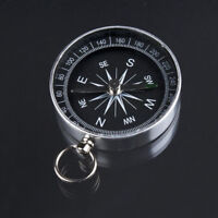 Professional Aluminum Lightweight Wild Survival Hiking Compass Navigation Tool