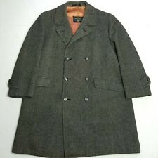 Cloth Crombie Gray coat - XL - double breasted
