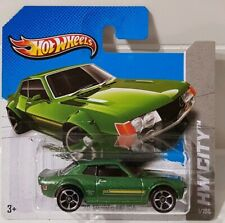 Hot Wheels '70 Toyota Celica Coupe GT JDM Green HW City #1/250 Short Card 3/10