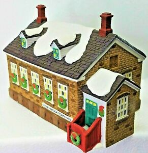 Department 56 Heritage Village Col. New England Village Stony Brook Town Hall