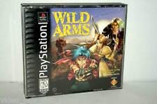 WILD ARMS GIOCO USATO OTTIMO SONY PSX PSONE EDIZIONE AMERICANA NTSC/U 37317