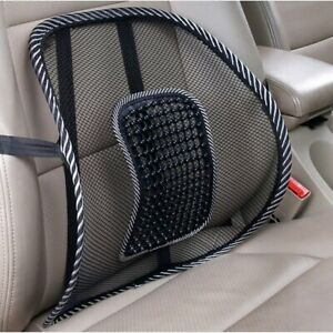 Lower Back Lumbar Support Car Seat and Office Chair Pain Relief Mesh Cushion*