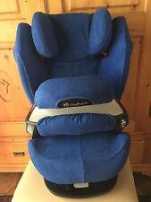 Sommerbezug Schonbezug Frottee für Cybex Pallas M und S + M und S-Fix NEU blau