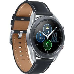 Samsung Galaxy Watch3 45mm Bluetooth Silver/Black Stainless Steel Case