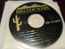 BIG COUNTRY KARAOKE BCY-001 TODAYS BIGGEST COUNTRY & AMERICANA HITS CD+G 15 TRX