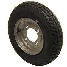 Trailer Wheel & Tyre 3.50-8  with 115mm PCD for Erde, Daxara 4 PLY TRSP12