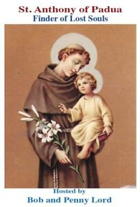 Saint Anthony of Padua DVD, by Bob and Penny Lord, New