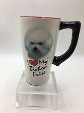 Mia Lane 2002 - I Love My Bichon Frise Dog MUG SPOONTIQUES
