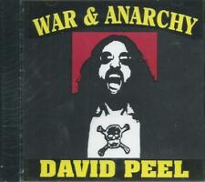 DAVID PEEL - WAR & ANARCHY 70s w/WAYNE KRAMER MC5 + 80s SEALED OOP NOISEVILLE CD