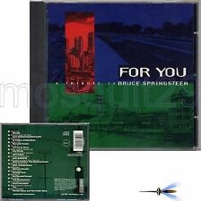 FOR YOU BRUCE SPRINGSTEEN CD - FLOR MARCO CONIDI LUCA BARBAROSSA ROSSANA CASALE