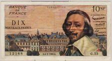 10 NOUVEAUX FRANCS RICHELIEU - 4.2.1960 - Billet de banque français (TTB)