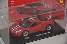 Burago B36901-18 - Ferrari 458 speciale rouge  1/43 BBURAGO