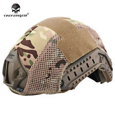 EMERSON Tactical FAST Helmet COVER Combat Duty Airsoft Gear MultiCam Camo Army