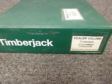 Timberjack S547 D566 S566 D567 Disc Saw Felling Head Parts Catalog Manual Book