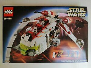 LEGO STAR WARS - Republic Gunship 7163 - BNISB NEW 2002 Release. Rare set.