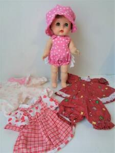"""1955 Arranbee R&B Littlest Angel Doll + Extra Clothes Outfits for 10"""" 11"""""""