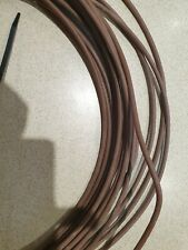 19m Genuine Brick Brown External 2 pair 4 wire Telephone Cable Bt Spec CW1412