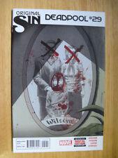 Deadpool Signed Comic Books
