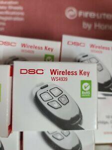 1 DSC WS4939 4-Button Wireless Keyfob Remote Key Fob (New Open Box)
