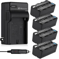 8800mAh NP-F970 NP-F960 Battery + Charger for Sony NP-F770 F570 NP-F950 NP-F550