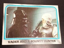 Star Wars - Empire Strikes Back Card 181 Vader And A Bounty Hunter