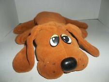 "1985 tonka copper brown pound puppies puppy plush 18"" long"