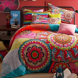 Elegant European Country Style Bedding Set, Modern Bohemian Duvet Covers, 4Pcs