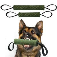 Dog Bite Tug Durable Jute Pet Training Chewing Toy 2 Handles for Schutzhund K9