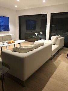 B & B italia Sofa Antonio Citterio Mid Century Modern Designer Couch Maxalto