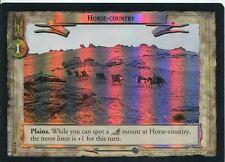 Lord Of The Rings CCG Foil Card TTT 4.U326 Horse Country