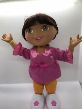 "Dora The Explorer Interactive Doll 12"" Tall Sings And Dances"
