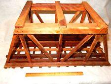 Custom Built G gauge wooden bridge from LGB train layout-about 2 feet long-look!