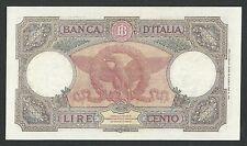 Italy Lire 100 SPL - SPL + / XF L'AQUILA BI Decr. 23-08-1943 Rara !!! RR 2