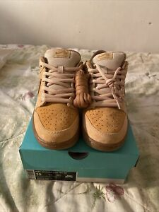 NIKE SB Dunk Low Reese Forbes REVERSE WHEAT Size 10 Mens - 883232-700 - With Box