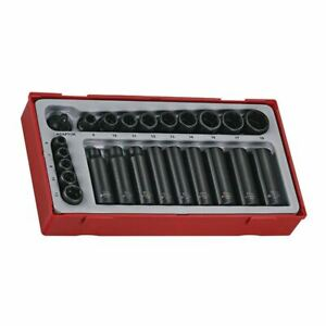 "Teng Tools TT9024 24 Piece 1/4"" & 3/8"" Drive Impact Socket Set"