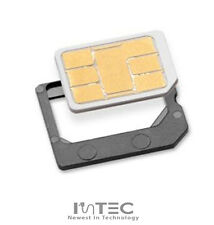 2x Nano Sim Card to Micro Sim Card Convertor Adapter