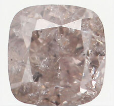 Natural Loose Diamond Cushion I2 Clarity Brown Color 3.20 MM 0.23 Ct L5710
