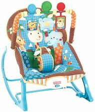 Fisher-Price Infant To Toddler Rocker Jungle Fun Baby chair []