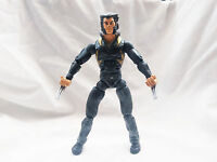 "Marvel Legends Wolverine Logan black outfit action figure 6"" scale"