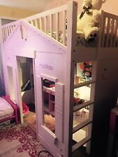 Playhouse Loft Bed Pottery Barn Quality Discount Space Saver Princess Kids Bed