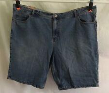 Bleach Denim Jean Shorts-4xl/44 Mr Big Targets in Summer Is Here