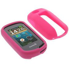 Tasche f. Garmin Oregon 650 / 650t / 750 / 750t Schutz Hülle Silikon Gummi Pink